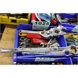ASSORTED CRESCENT AND BOX WRENCHES