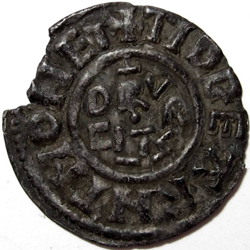Lot 53 - Anglo Saxon, Kings of Kent, BALDRED [823-5] PENNY. Portrait type – Canterbury mint – moneyer –