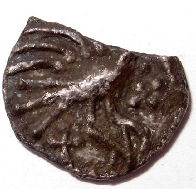 Lot 12 - Anglo Saxon, SCEAT [c.695-740]. Plumed Bird, porcupine, bird right, rev. standard. Silver. 0.93g.