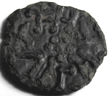 Lot 47 - Anglo Saxon, Kings of Northumbria, UNUSUAL STYCA. +EARDVVLF, pellet in centre; +FFEHLVVF, pellet.