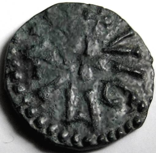 Lot 44 - Anglo Saxon, Northumbria, Archbp. WIGMUND [837-50] STYCA. +VIGMUND, cross in centre; rev. +