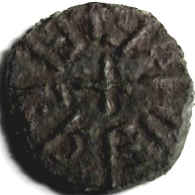 Lot 34 - Anglo Saxon, Kings of Northumbria, AETHELRED [841-50] STYCA. +EADLREIE, cross in centre, rev. +