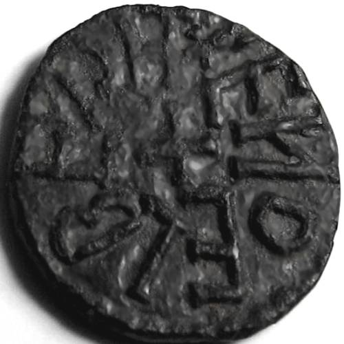 Lot 39 - Anglo Saxon, Kings of Northumbria, AETHELRED [841-50] STYCA. +EDILRED RE [retro.], cross in