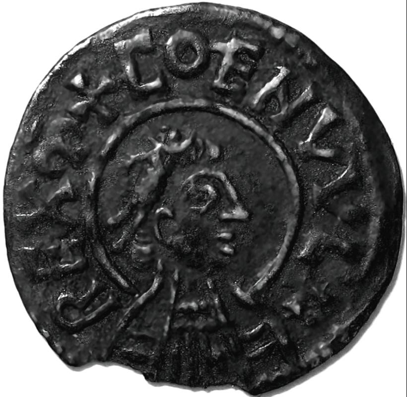 Lot 51 - Anglo Saxon, Kings of Mercia, COENWULF [796-821] PENNY. Portrait type – Group II – Canterbury mint –