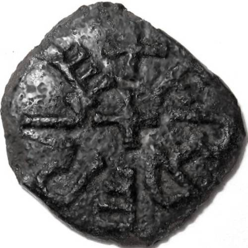Lot 38 - Anglo Saxon, Kings of Northumbria, AETHELRED [841-50] STYCA. +ELDRED RE, cross in centre; rev. +