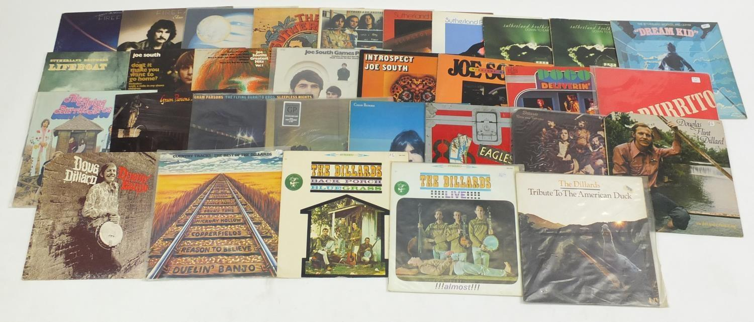 Country Folk And Rock Vinyl Lp S Including The Dillards