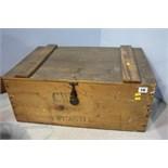 Pine C.W.S box