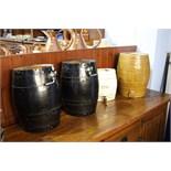3 Barrels and Gin decanter