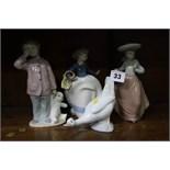 4 NAO figurines
