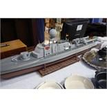 Remote control Ship