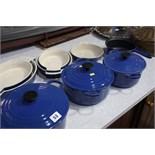 Quantity of Le Creuset pans