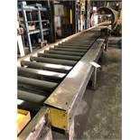 LOT: Approx. 67 ft. of 40 in. Powered Roller Conveyor on 10 in. Centers