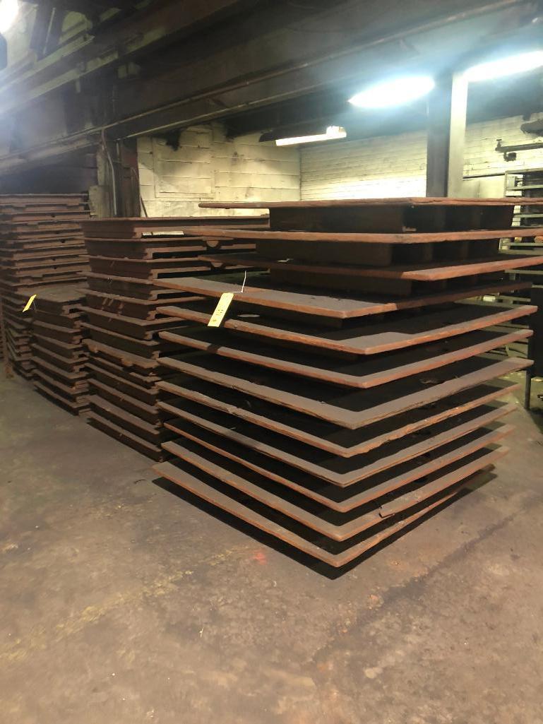 Lot 28 - LOT: All Steel Bottom Boards in Building