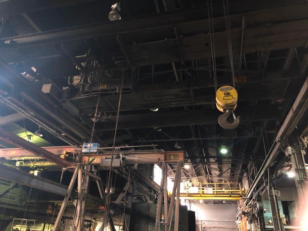 Lot 60 - #119 10 Ton Bridge Crane Approx. 27 ft. Span with Pendent Controls