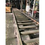 LOT: Approx. 54 ft. of 40 in. Powered Roller Conveyor on 12 in. Centers