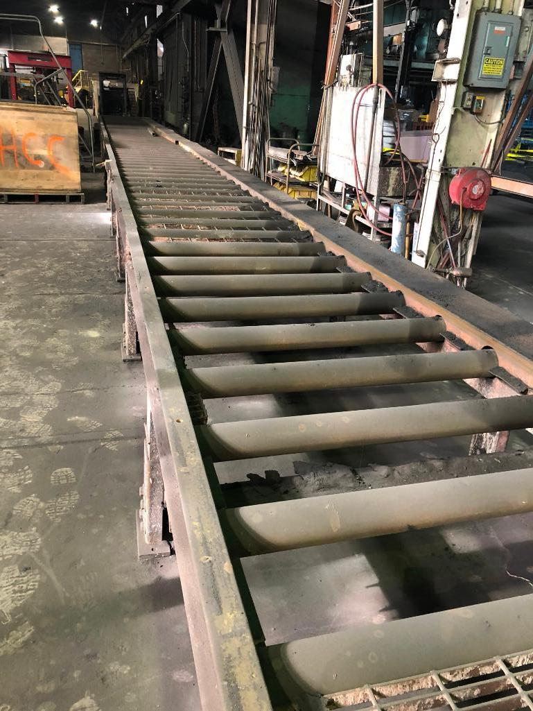 Lot 40 - LOT: Approx. 54 ft. of 40 in. Powered Roller Conveyor on 12 in. Centers