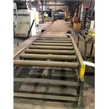 LOT: Approx. 51 ft. of 40 in. Powered Roller Conveyor on 10 in. Centers
