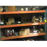 LOT: (1) Section of Pallet Racking with Contents