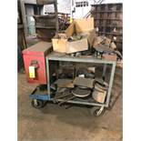 LOT: Portable Cart with Contents