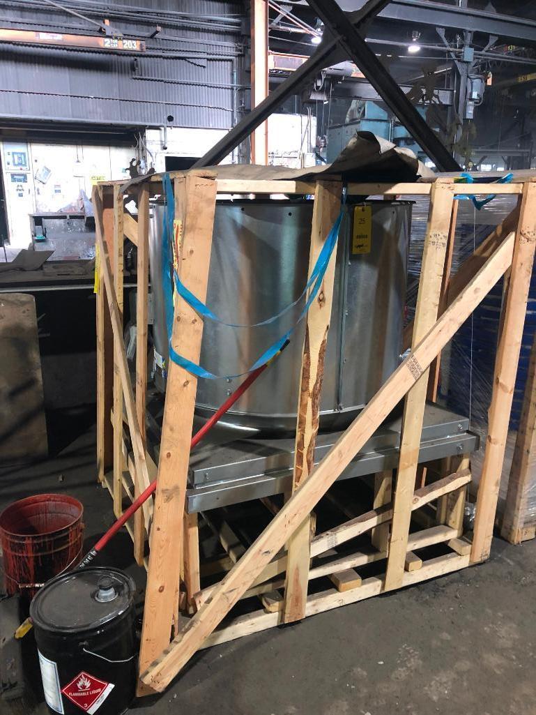 Lot 25 - Greenneck Roof Fan Model RDU-36-612-B30, New