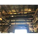 #121 10 Ton Bridge Crane Approx. 27 ft. Span with Pendent Controls