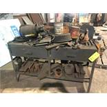 LOT: Bench with Contents