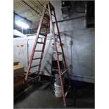 9-Step Fiberglass Ladder