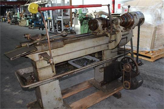 Hendey Number 1 x 30 Wear High Speed Engine Lathe, Includes Tail