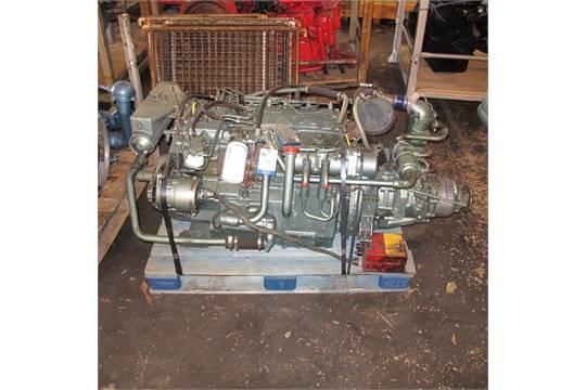 Diesel Engine Marine Perkins 6354 Horizontal engine C/W borg