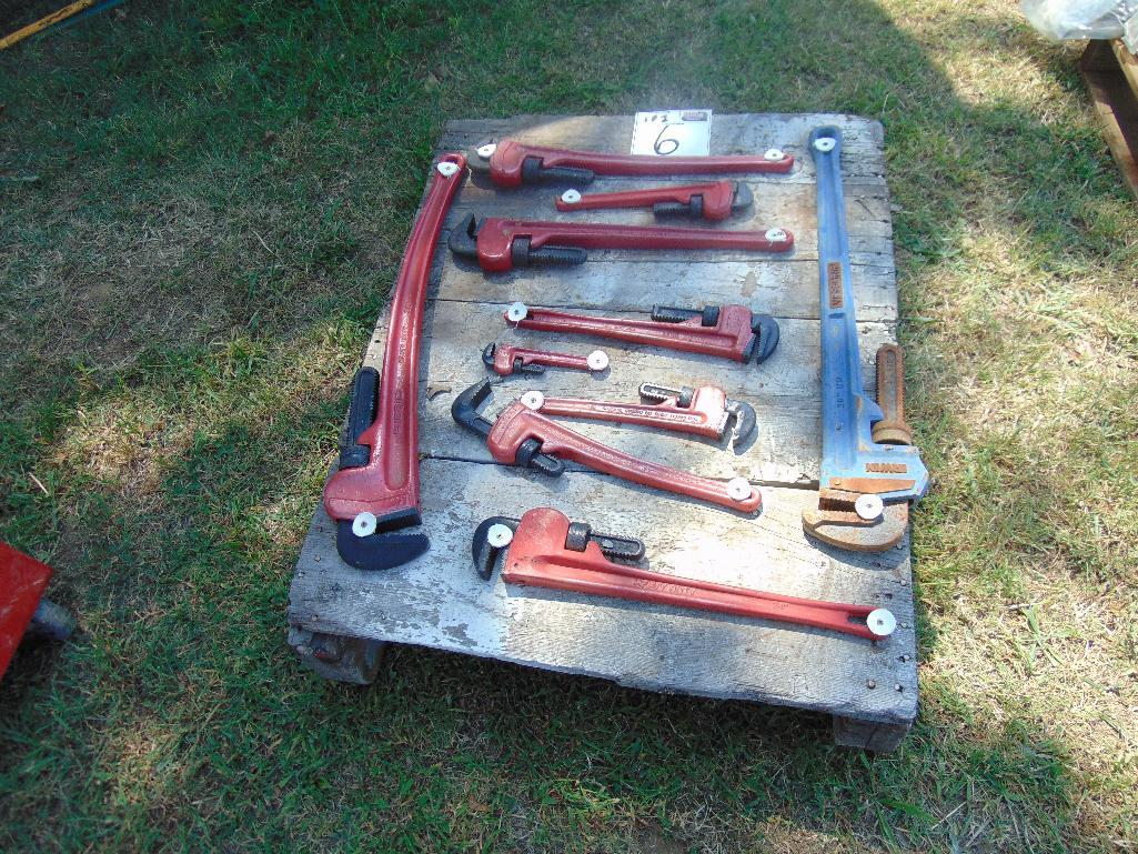 Lot 6 - Pallet Assorted Pipe Wrenches
