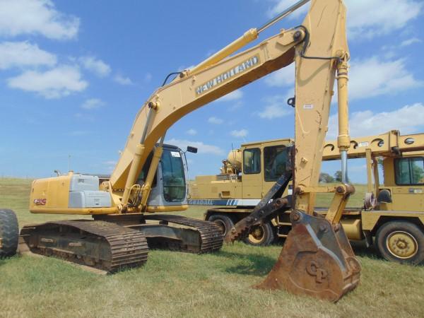 Lot 104 - 2007 New Holland E215LC Hydraulic Excavator, s/n n7da21309