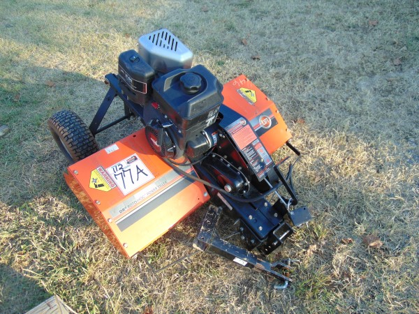 Lot 77a - 3' Dr Roto Hog Power Pull Type Tiller, briggs & Stratton eng,