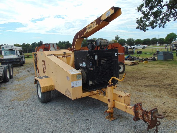 Woodsman 2118 Wood Chipper s/n 0112105,