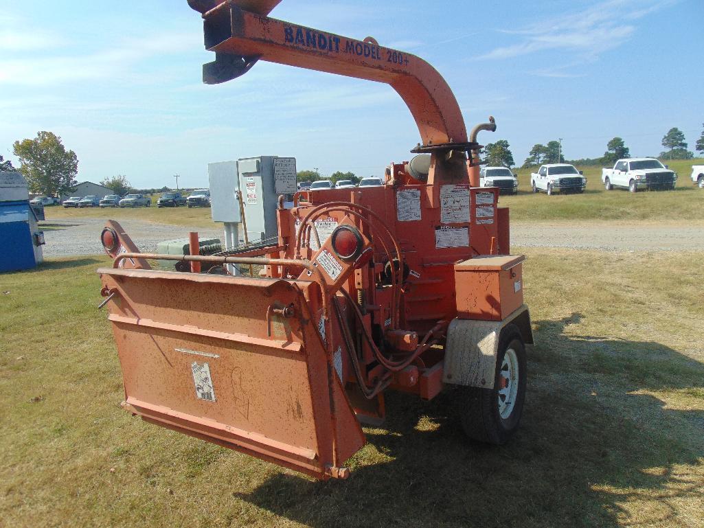 Lot 87 - Bandit 200+ Wood Chipper s/n 16474