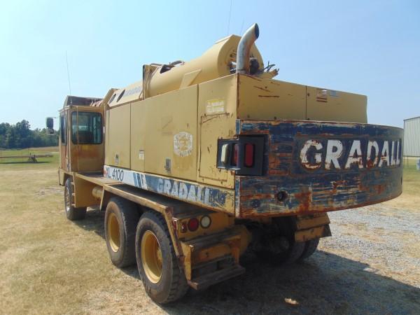 Lot 104a - 1996 Gradall XL4100 Mobile Excavator, s/n 0417254, diesel eng, 8 spd trans,