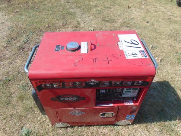 Lot 16 - Tahoe 7000 Diesel Generator s/n hp13116473