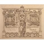 """a GEORGE V CORONATION PRINTED INVITATION to Sir William and Lady Priestley 11"""" (28) x 13 1/4"""" (33.5)"""