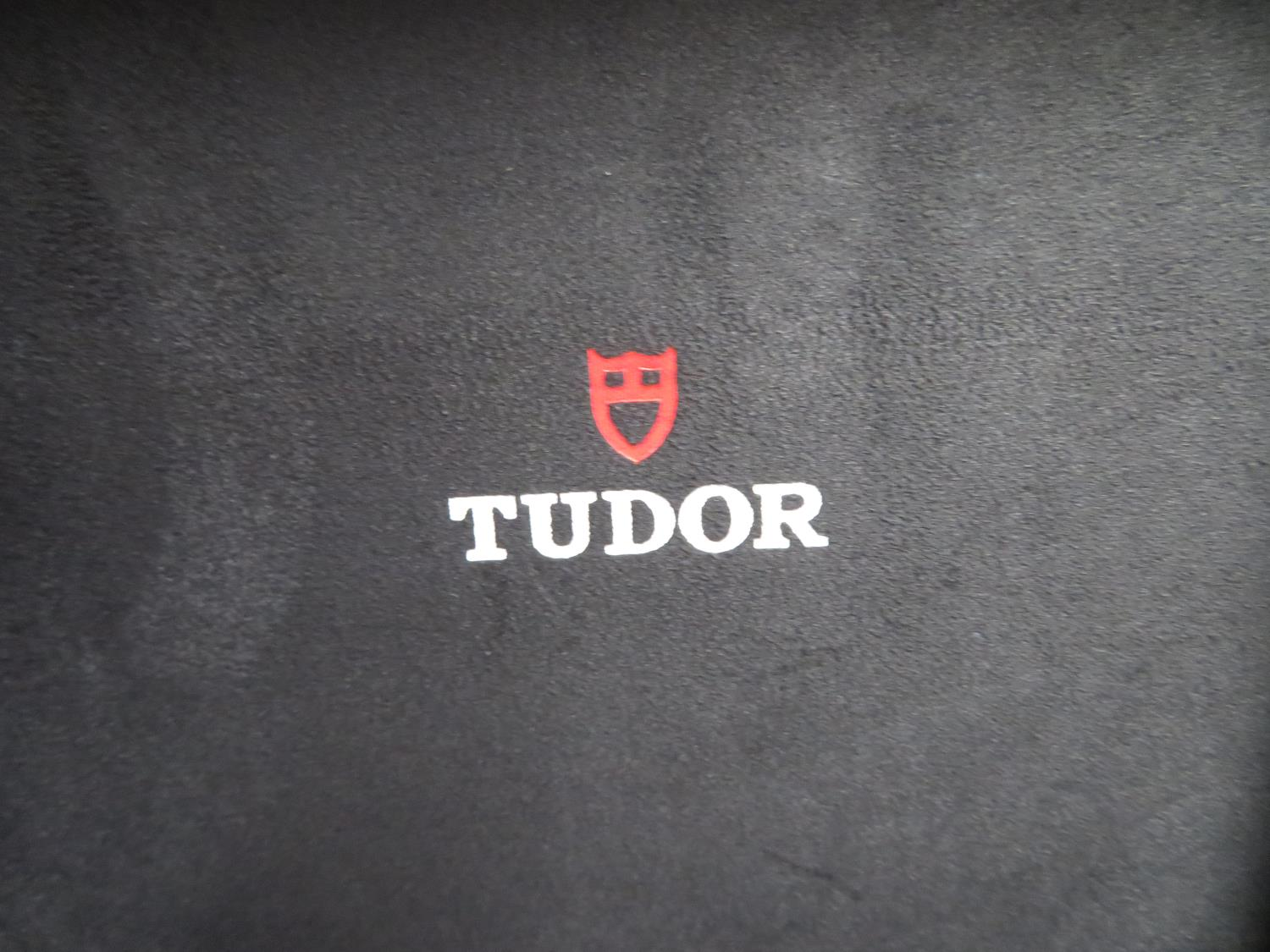Lot 9 - Tudor Heritage Chronograph Monte Carlo with full paperwork and box