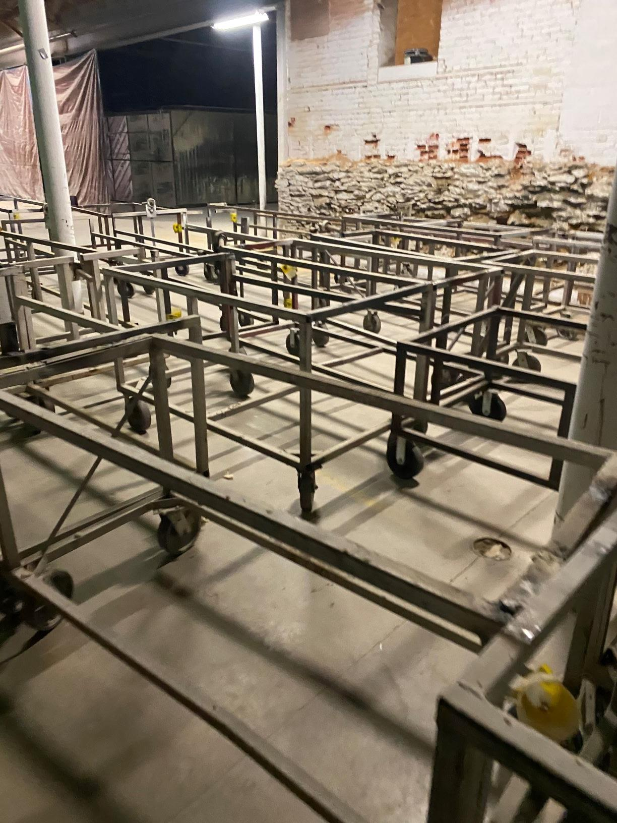 Heavy Duty Rolling Carts Various sizes Lot of approx. 25 - Image 3 of 6