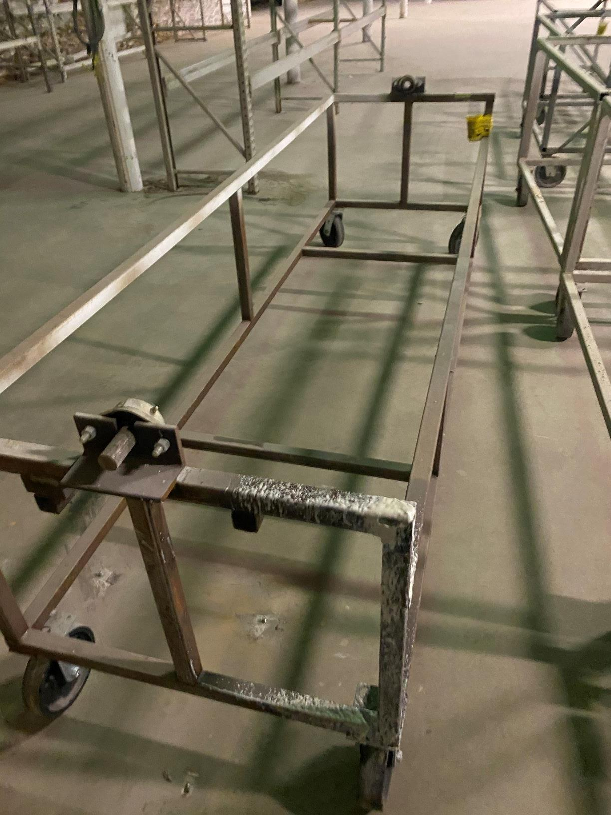 Heavy Duty Rolling Carts Various sizes Lot of approx. 25 - Image 4 of 6