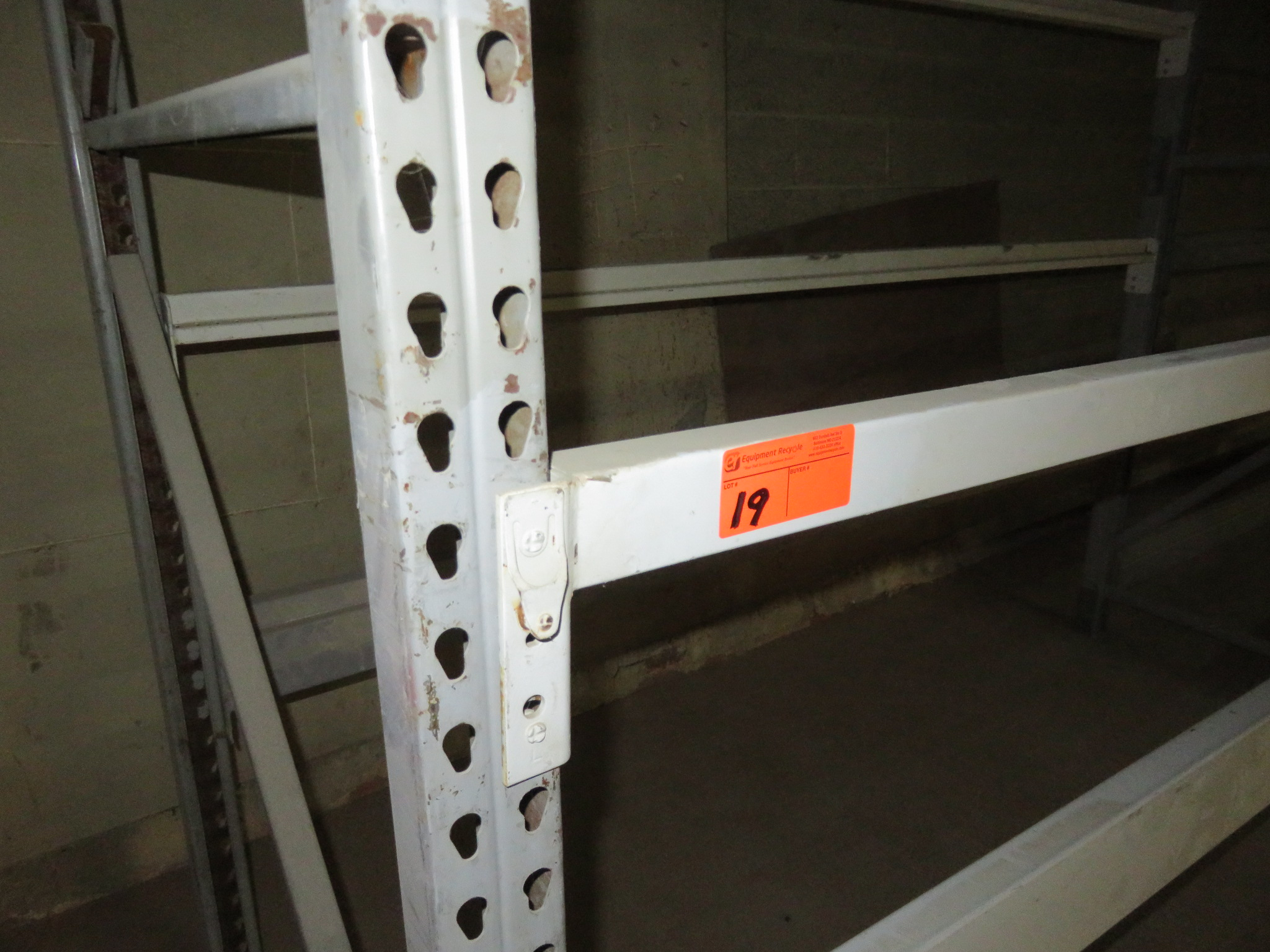"""Warehouse Pallet Racking 2 Sections approx 72""""x 42"""" X 96"""" - Image 2 of 2"""