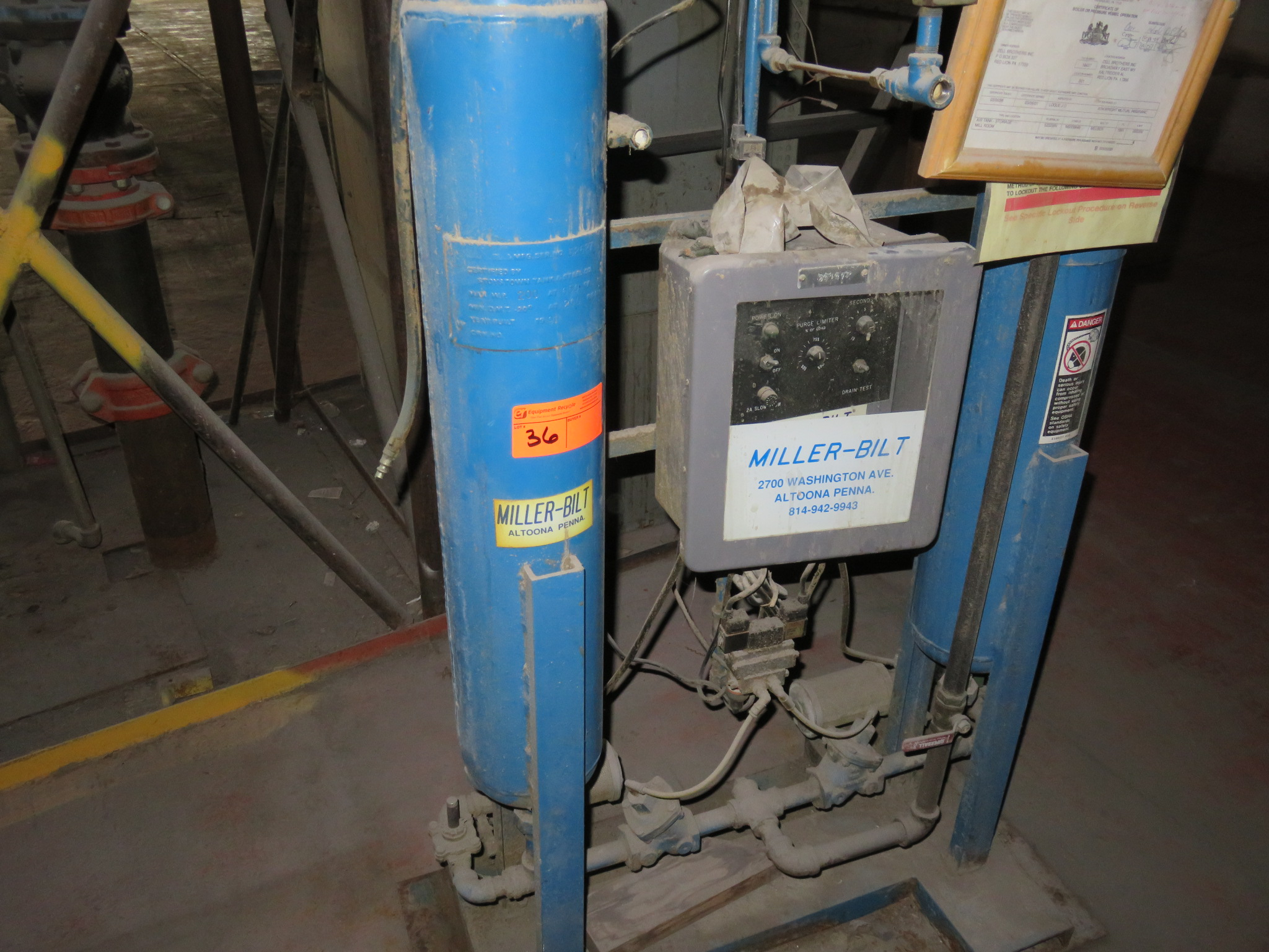 Miller-Bilt MB-50 Air Dryer Ph1 - Image 2 of 5