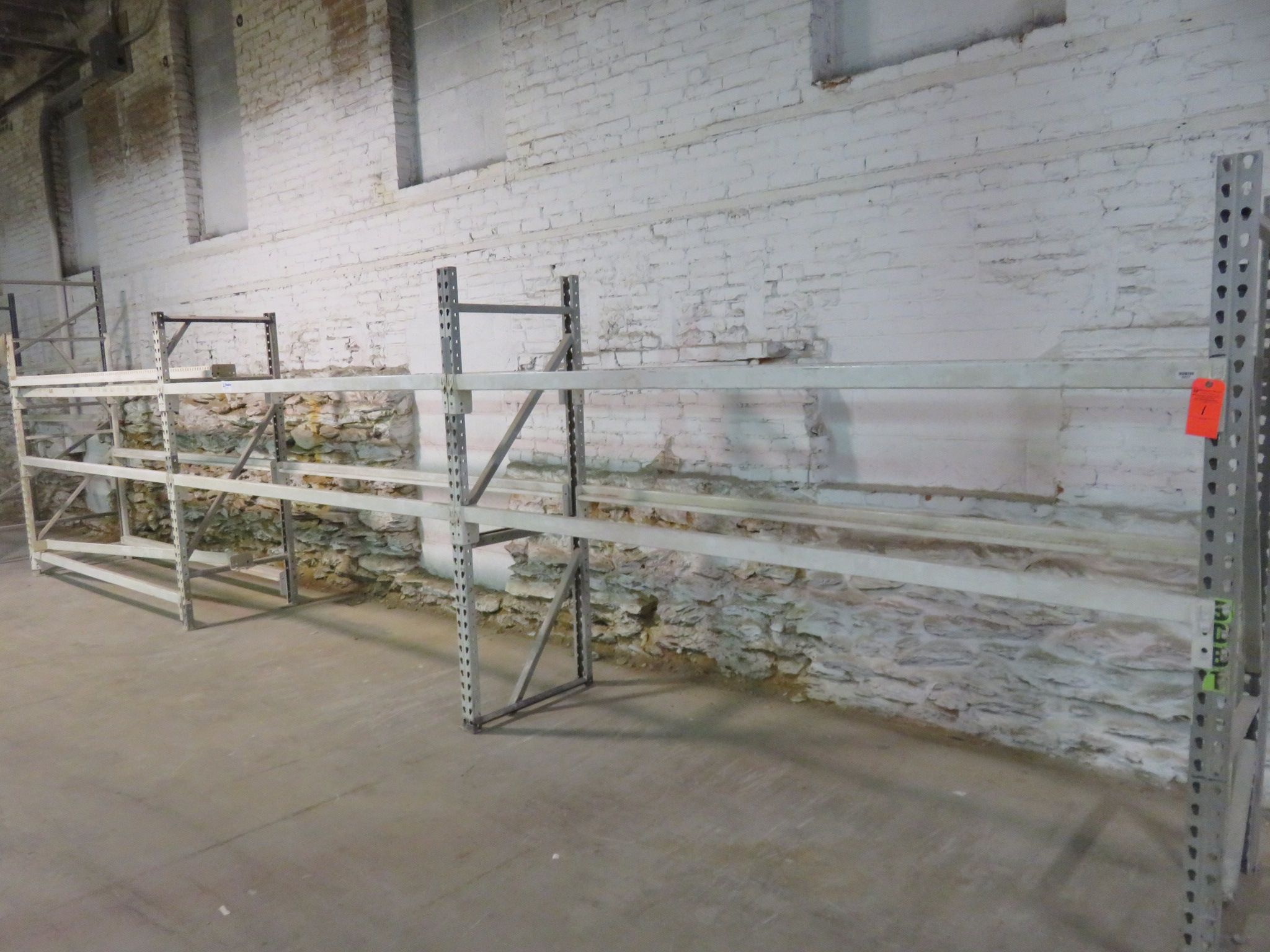 """Warehouse Pallet Racking 3 Sections 60""""x 28""""x 98"""""""