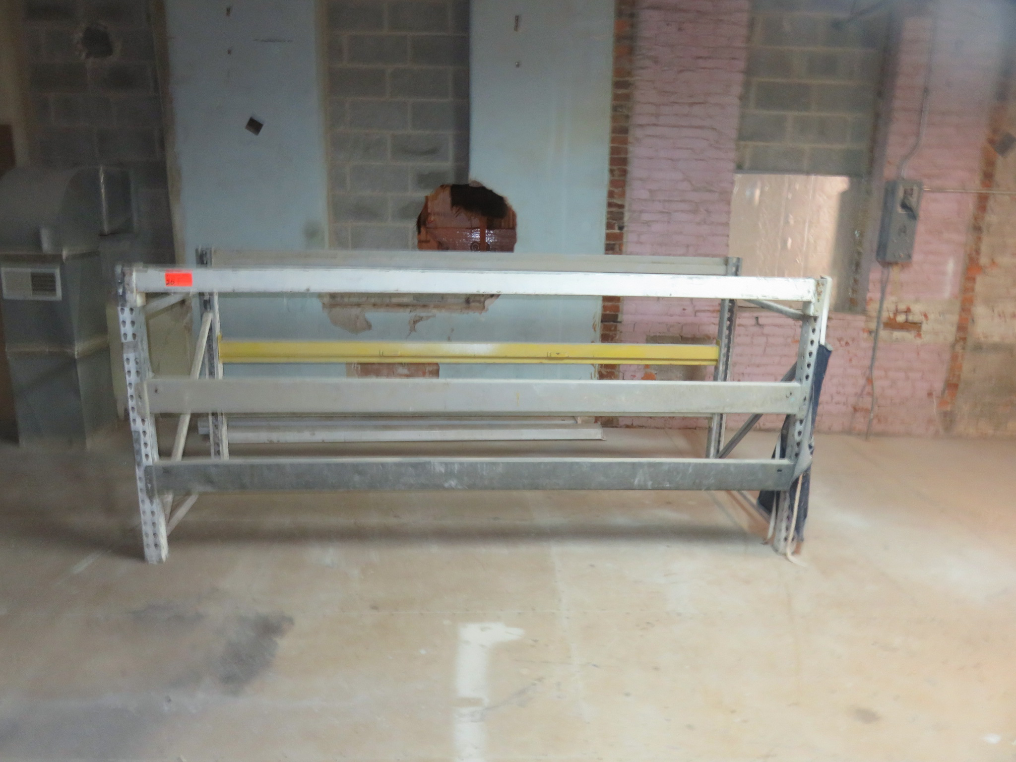 "Warehouse Pallet Racking 1 Section approx. 50""x 42""x 108"""