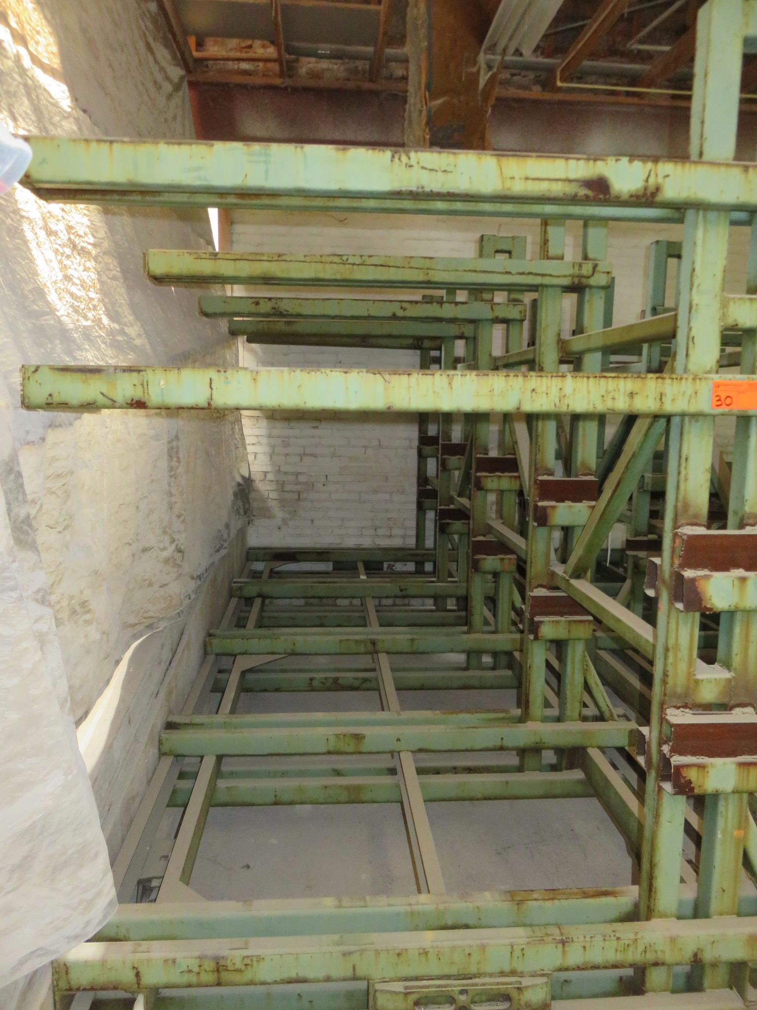 """Heavy Duty Cantilever Warehouse Racking Approx. 162"""" x 63"""" x 91"""""""