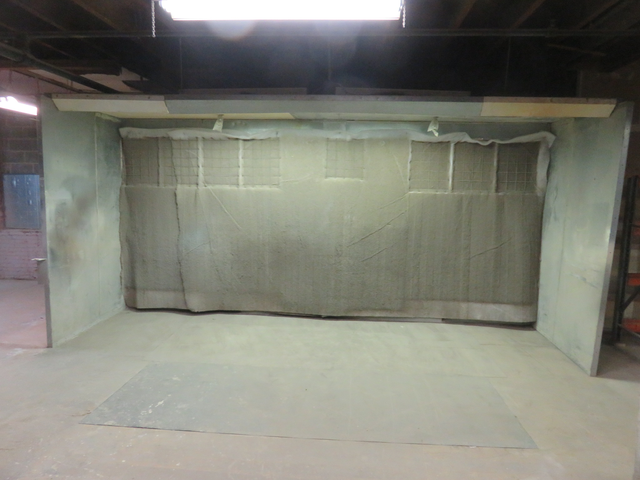 Paint Booth approx. 17 'x 8' x 8'