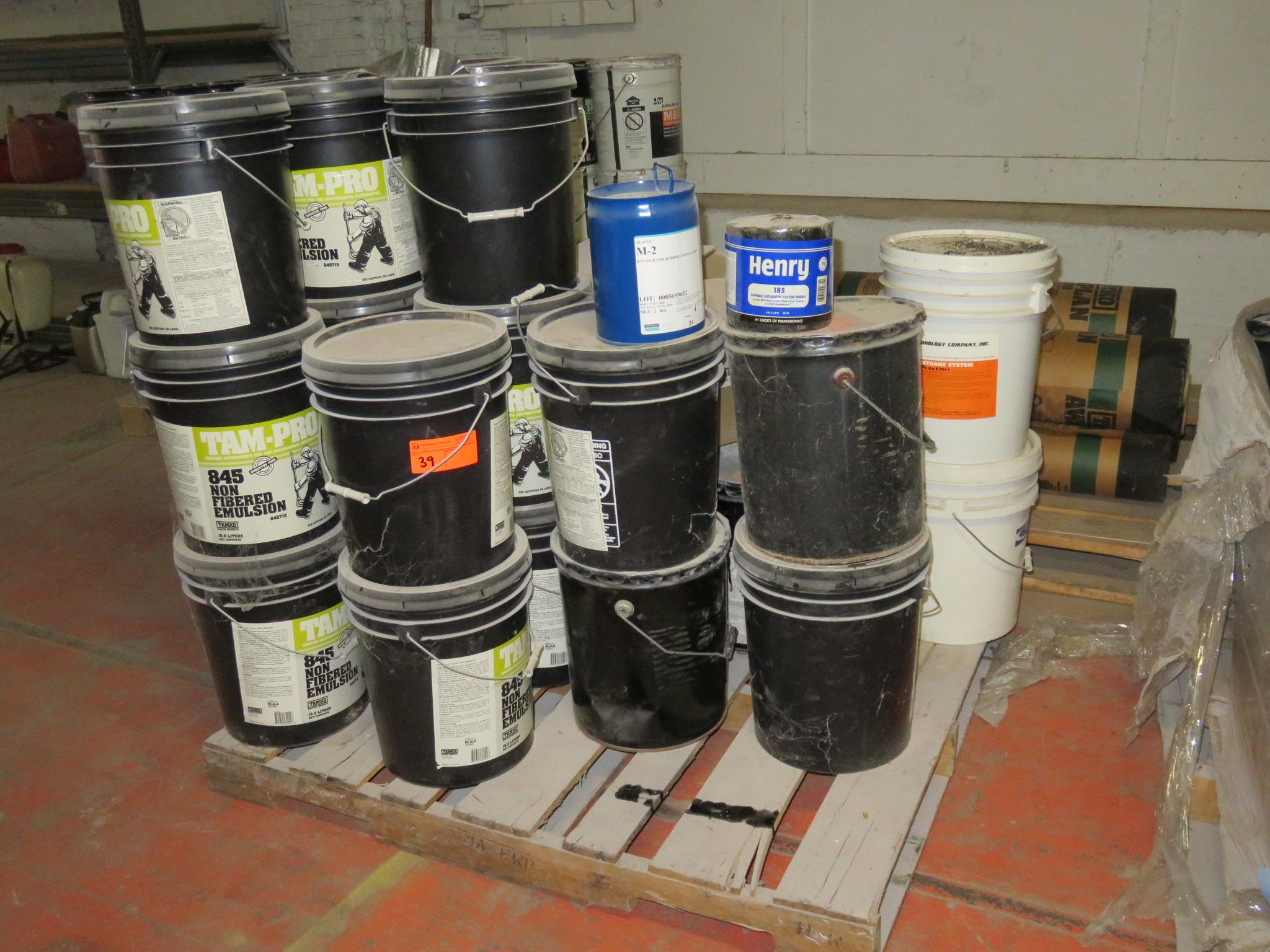 Large Lot Tam-Pro Silastic 845 M-2 Non Fibered Emulsion