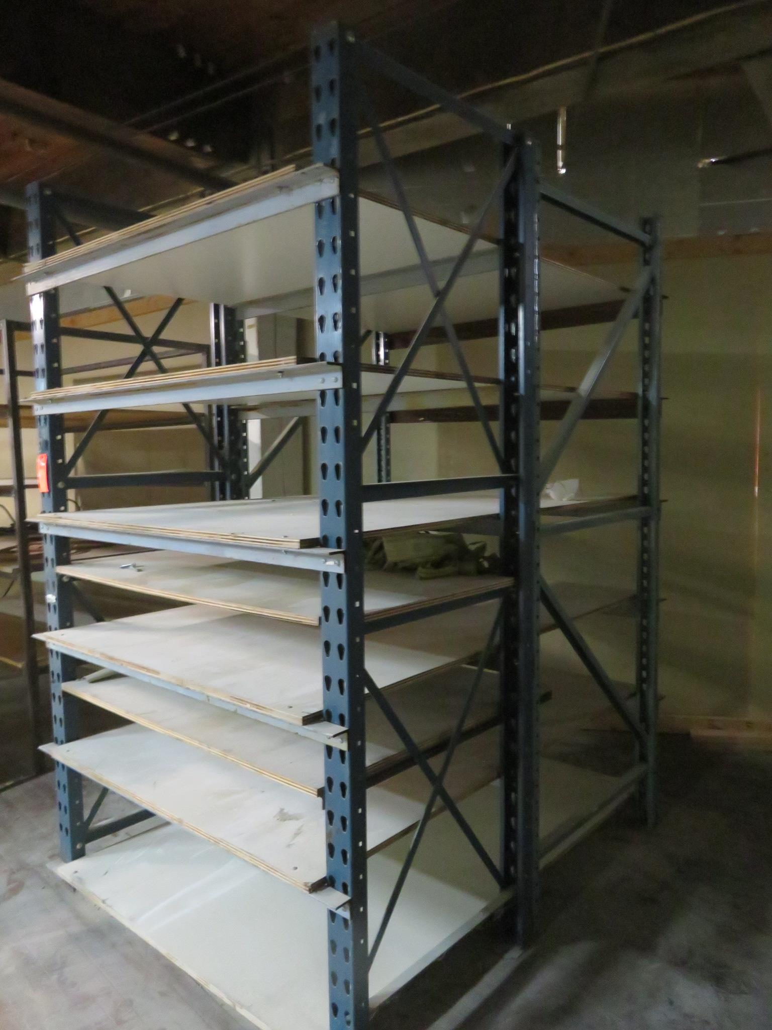 "Custom Welded Racks Lot of 2 92""x 48""x 30"" 92""x 48""x 36"""