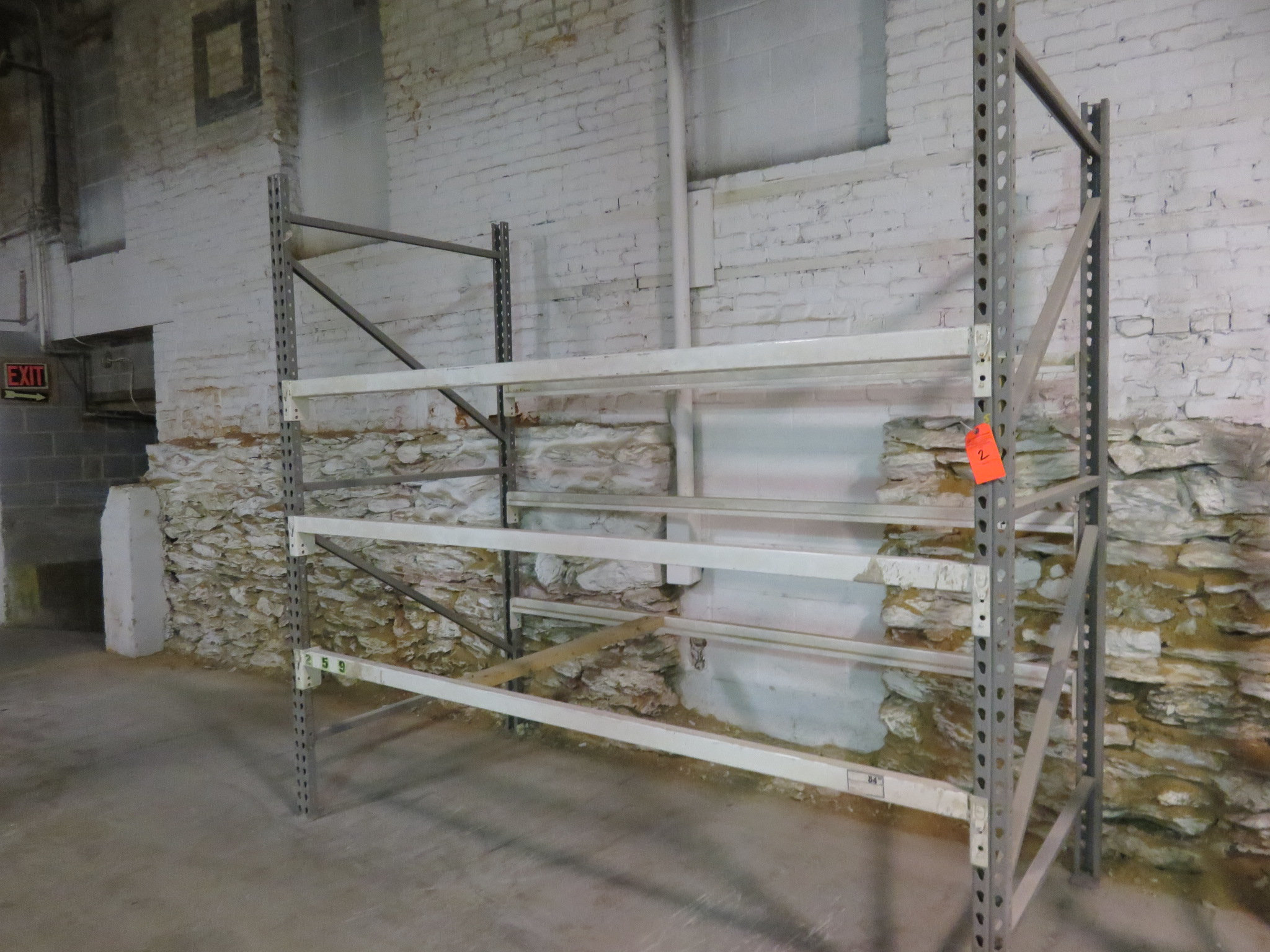 """Warehouse Pallet Racking 1 Section 96"""" x 48""""x 96"""""""