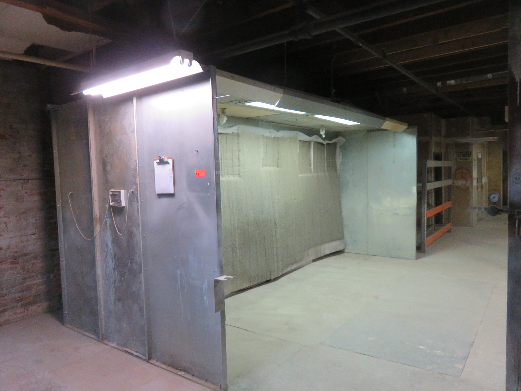 Paint Booth approx. 17 'x 8' x 8' - Image 3 of 4